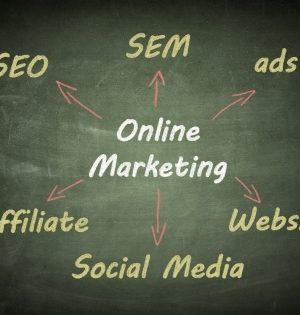 Viel Arbeit für Texte durch Onlinemarketing