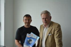 Patrick Schlenz und Volker Ebener