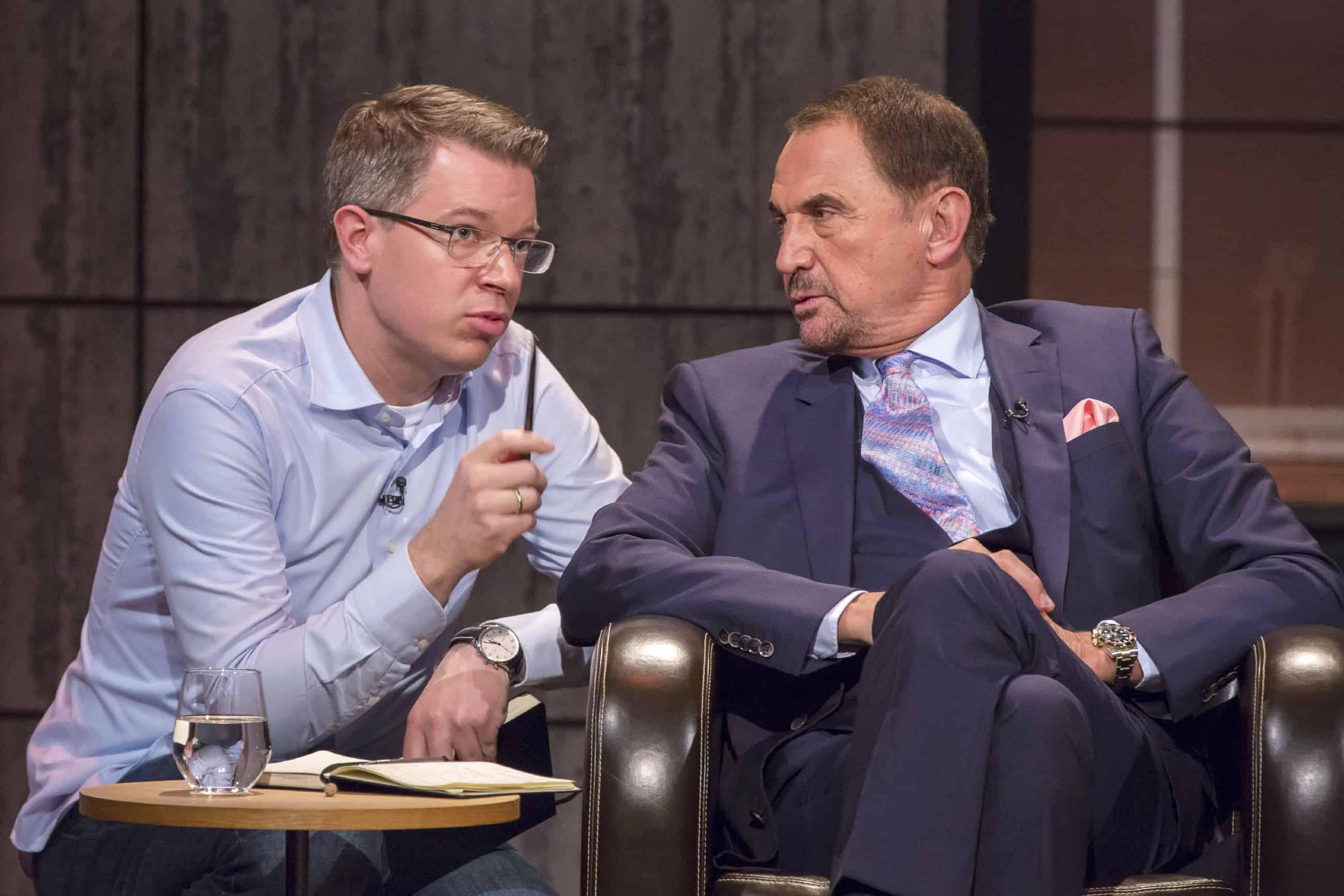 Frank Thelen und Vural Öger