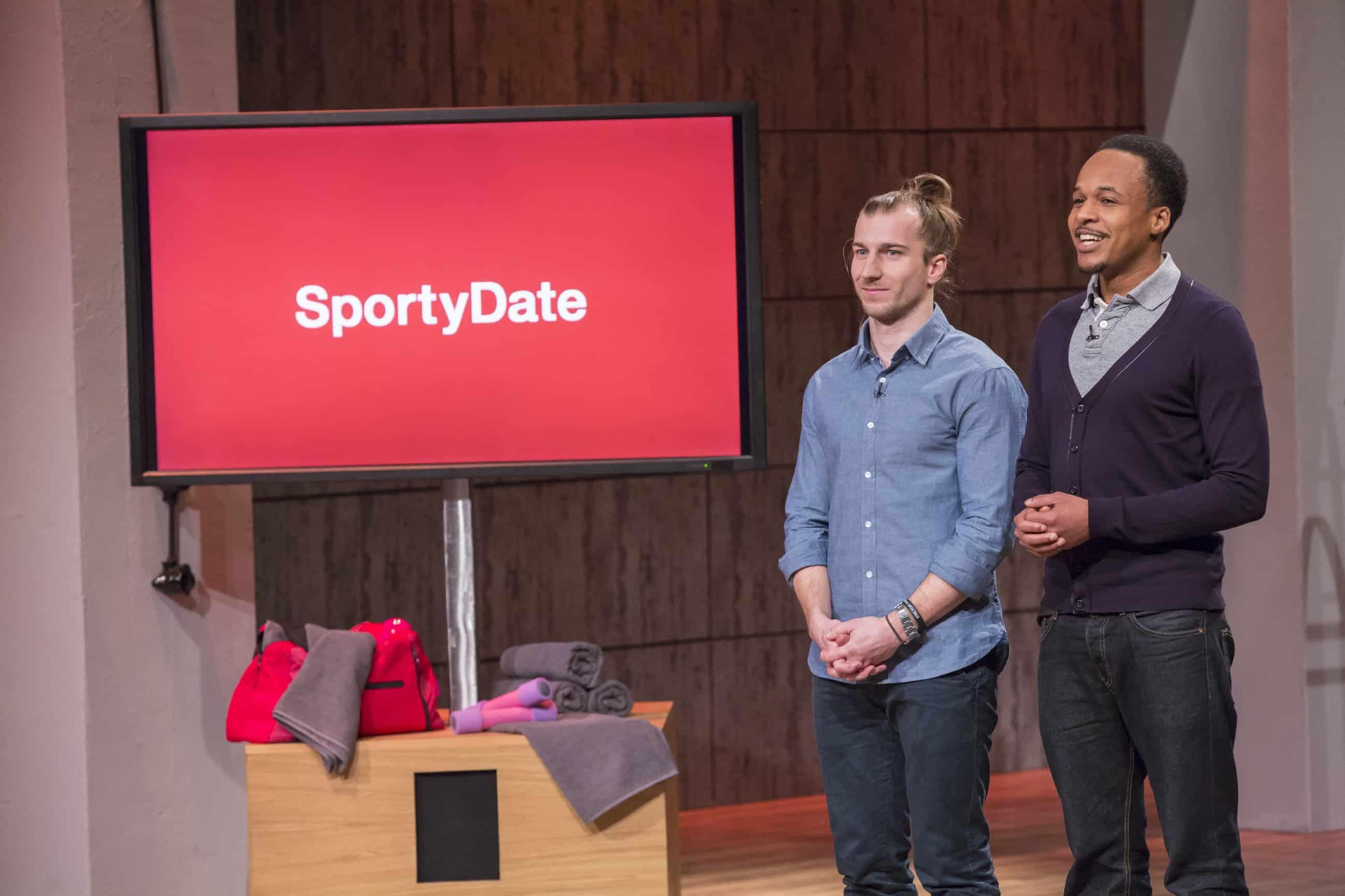 Carlos und Fleck von SportyDate