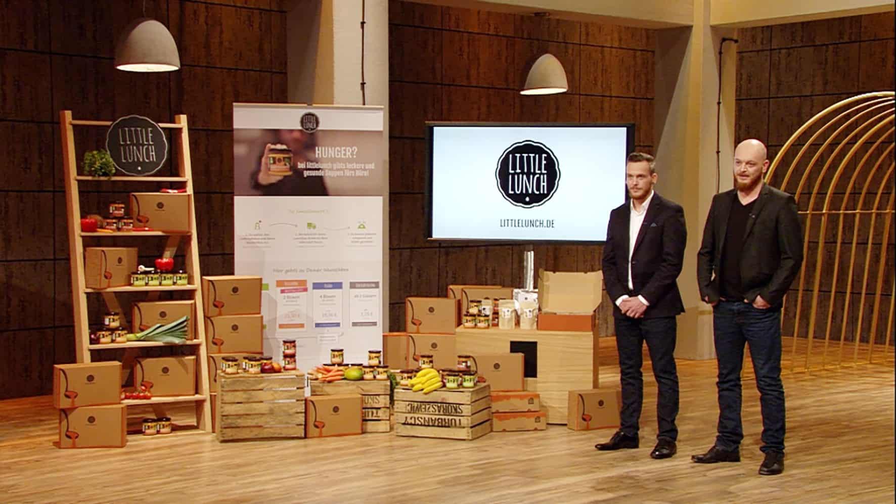 Little Lunch Gründer Daniel Gibisch und Denis Gibisch