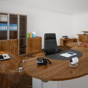 sauberes Büro