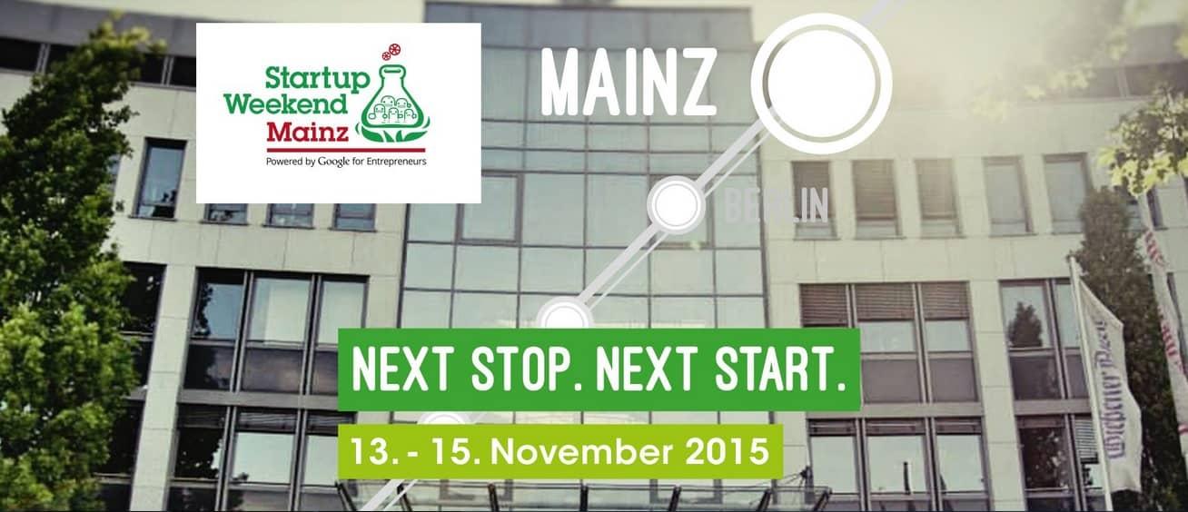 StartupWeekend Mainz 2015