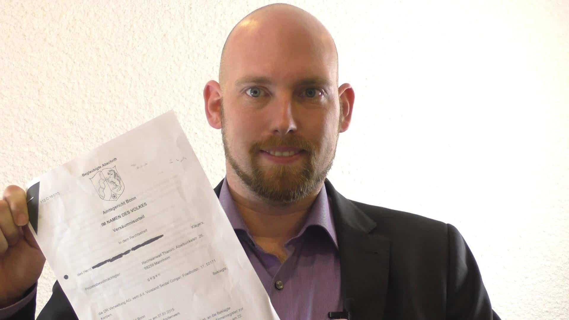 DR Verwaltung AG Urteil