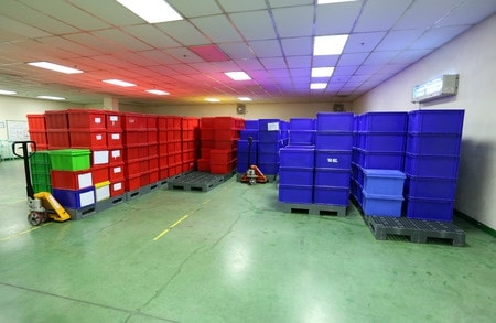 Outsourcing der Lagerhaltung