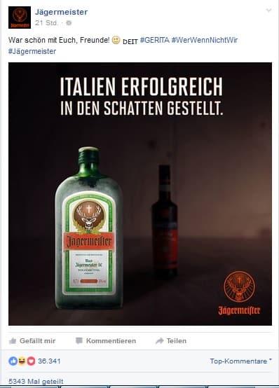 Jägermeister kann Marketing