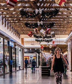 Warensicherung im Einkaufszentrum