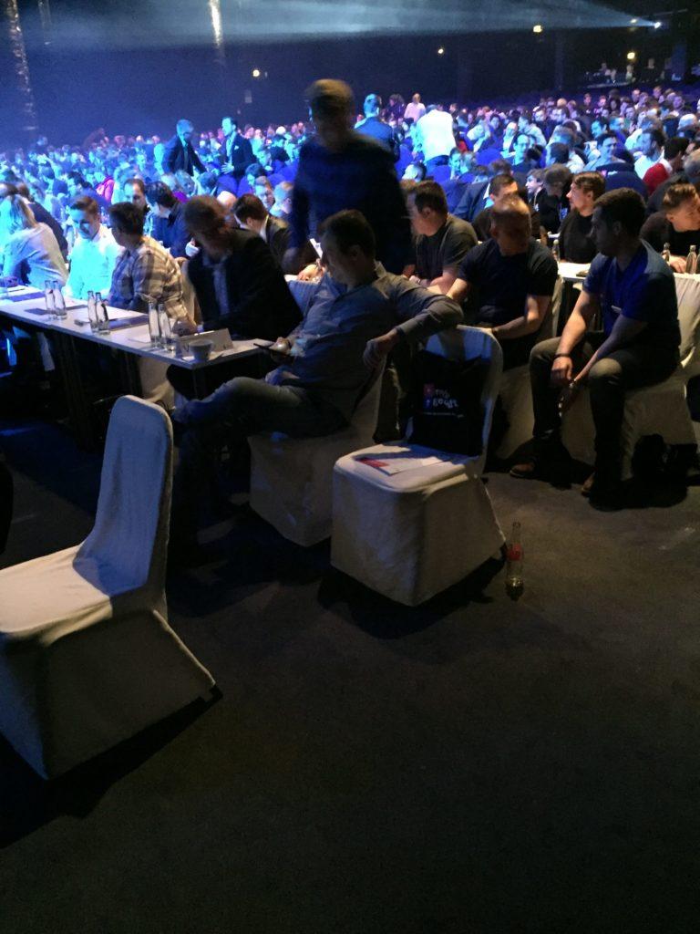 Mehr Geschäft VIP Bereich Live Summit