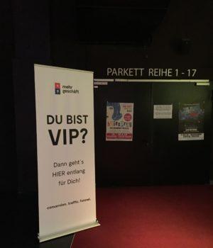 VIP Eingang Live Summit Düsseldorf
