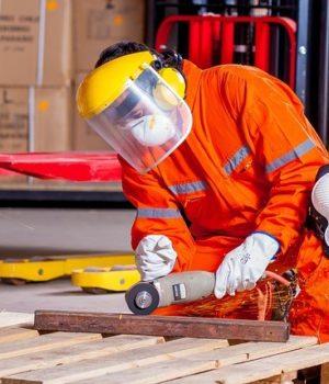 Arbeiter Sicherheit