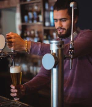 Eröffnung einer Bar