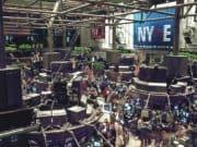 Turbulentes Treiben an der Börse