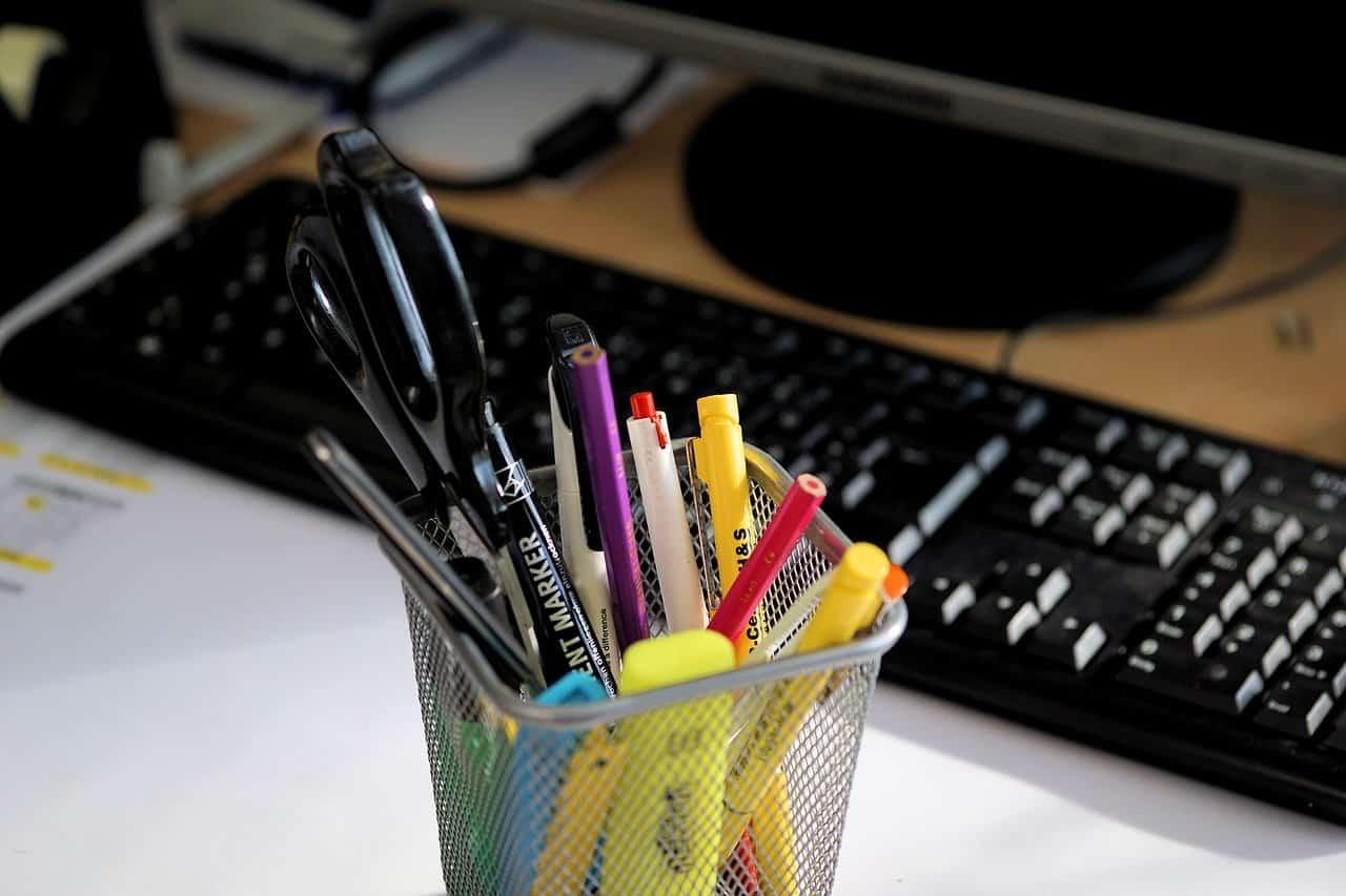Büroartikel für Startups