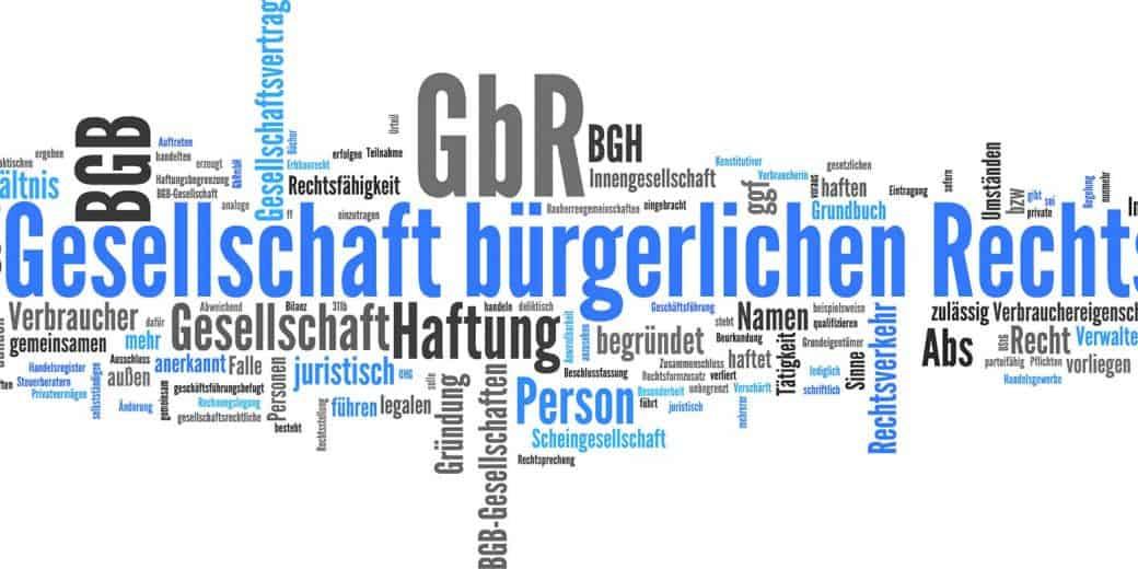 GbR (Gesellschaft bürgerlichen Rechts)